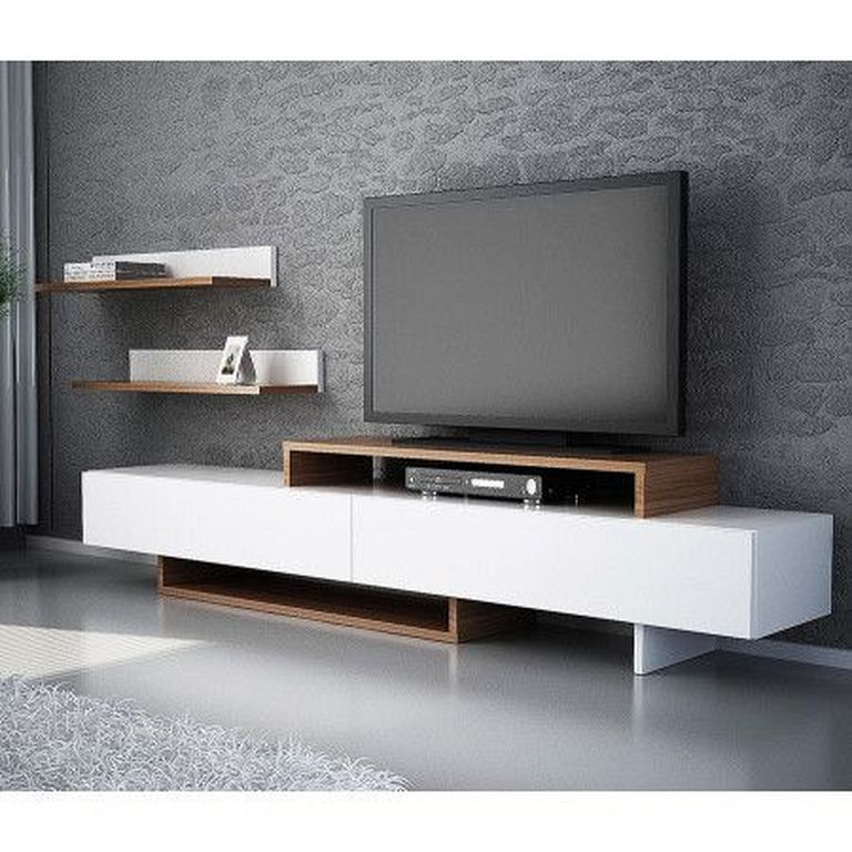 20 Wooden TV Stand Designs You Can Make Yourself