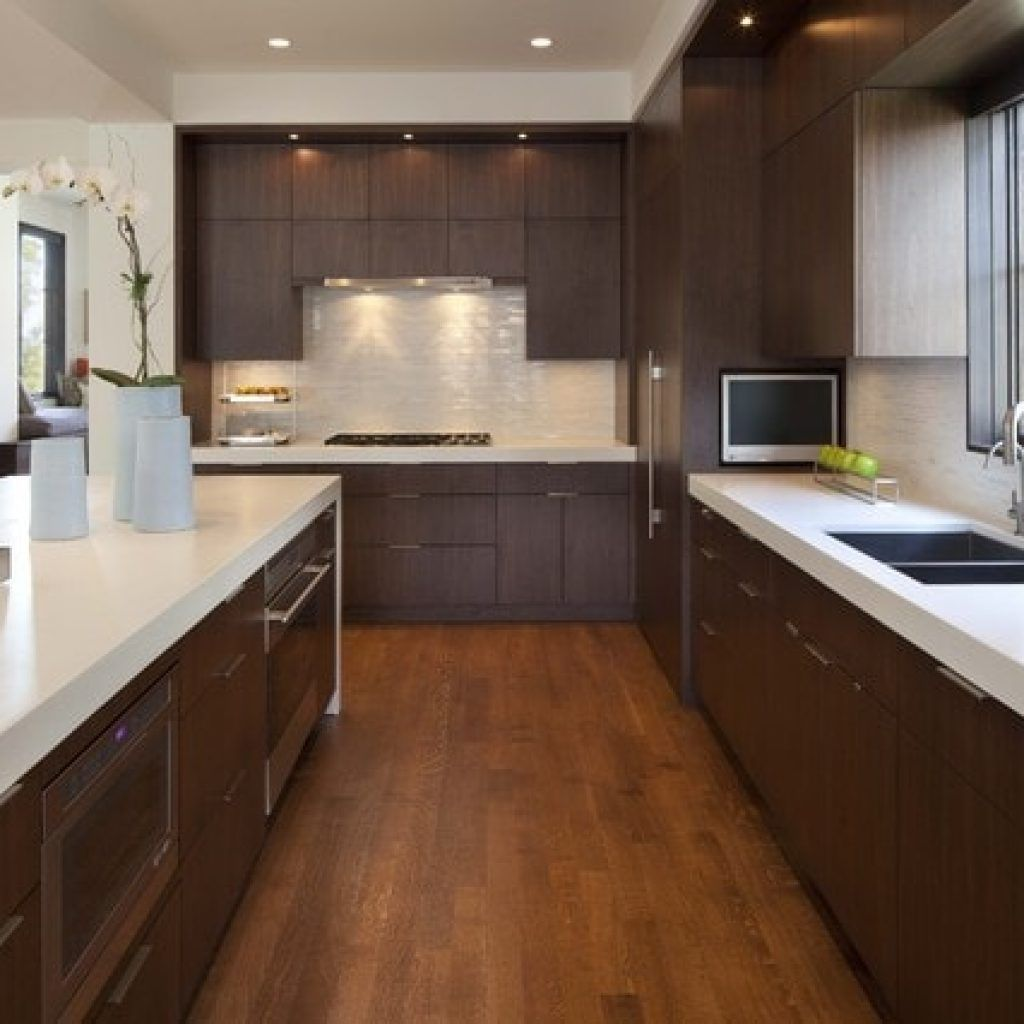 Gute, Moderne Küche Dunklem Mobiliar egal, was die Größe