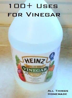 100 + Uses for Vinegar | Housekeeping tips | Pinterest | Vinegar, Household  and White vinegar