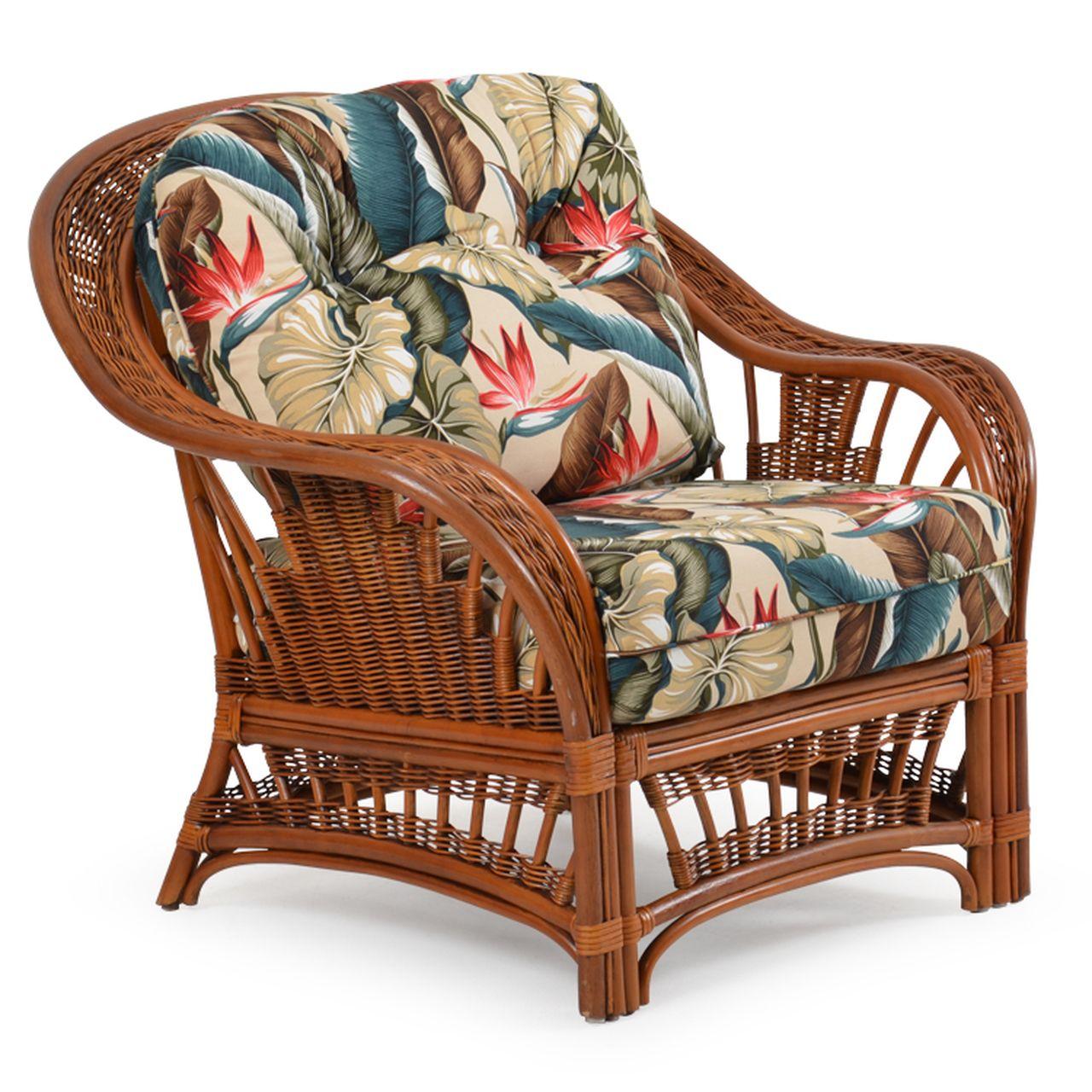 Bali Indoor Rattan Lounge Chair in 2020 Rattan lounge