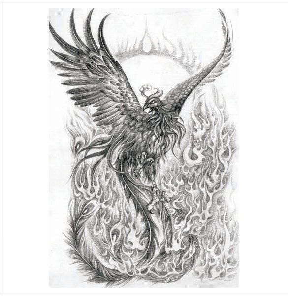 20 Mind Blowing Phoenix Bird Art Drawings Phoenix Tattoo Sleeve Phoenix Tattoo Phoenix Tattoo Arm