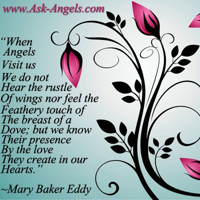 Angel Love Quotes Interesting Angel Quotes  Angel Quotes And Mary Baker Eddy