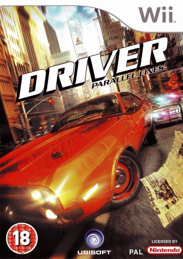 Driver Parallel Lines O Inicio De Um Jogo Marcante Youtube Wii Ubisoft Action Adventure