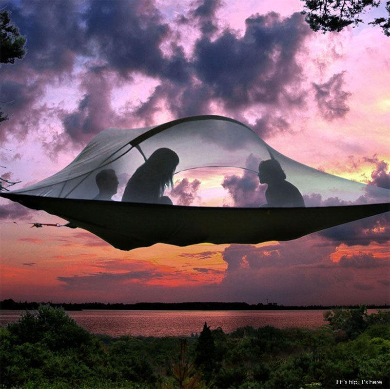 Tentsile Tree Tents Take Camping To A New Level | http://www.ifitshipitshere.com/tentsile-tree-tents/