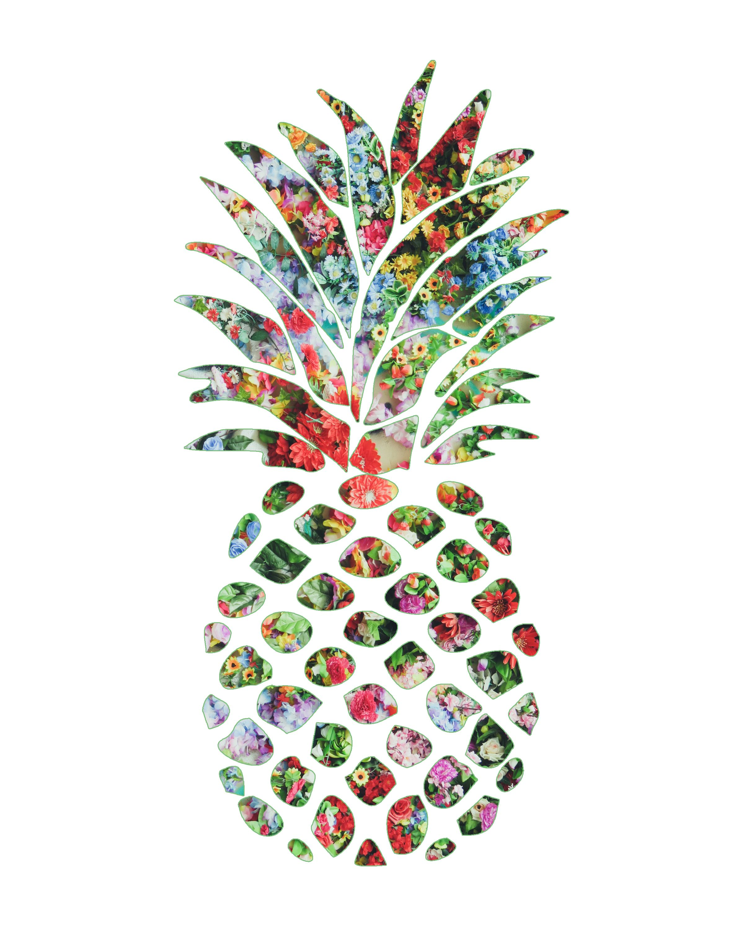 Tropical Artwork Free Pineapple Wall Art Mishmash By Ash Tropical Baby