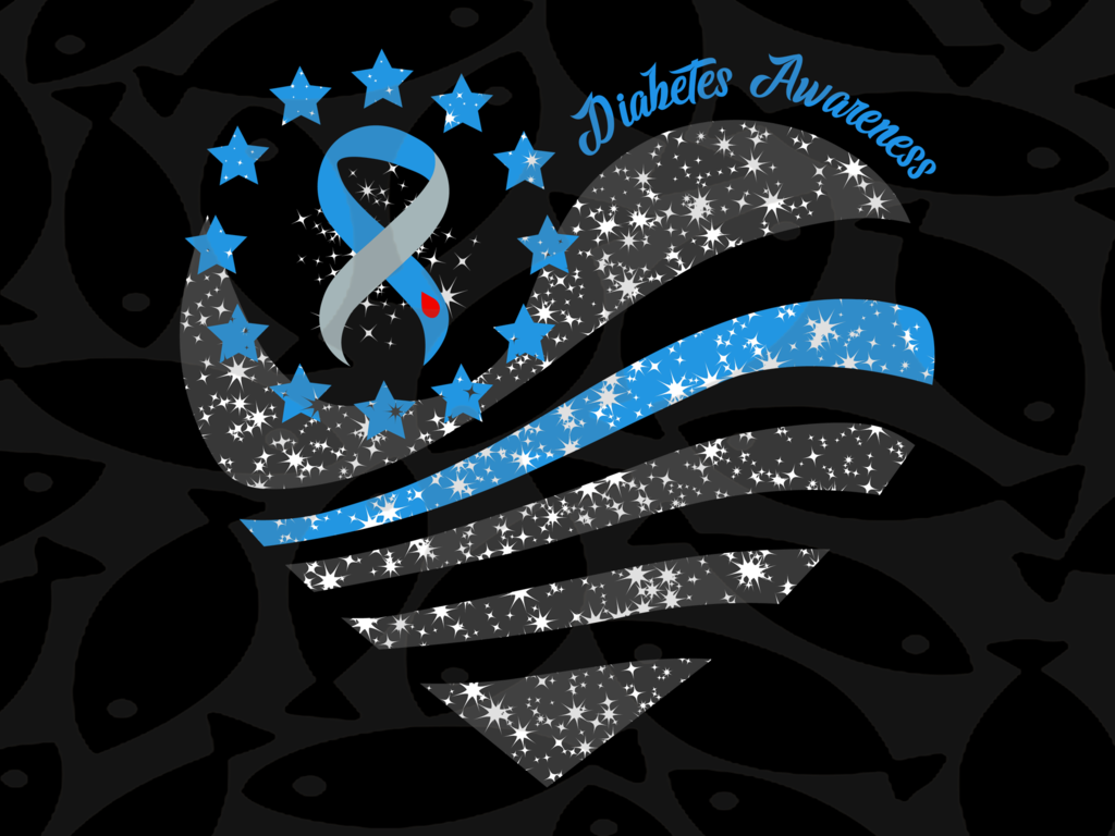 Diabetes Awareness Svg Files For Silhouette Files For Cricut Svg Dxf Eps Png Instant Download Diabetes Awareness Awareness Diabetes