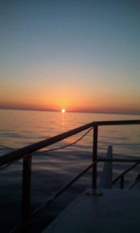 #tramonto visto dal nostro #peschereggio #sicilia #sicily #sunset