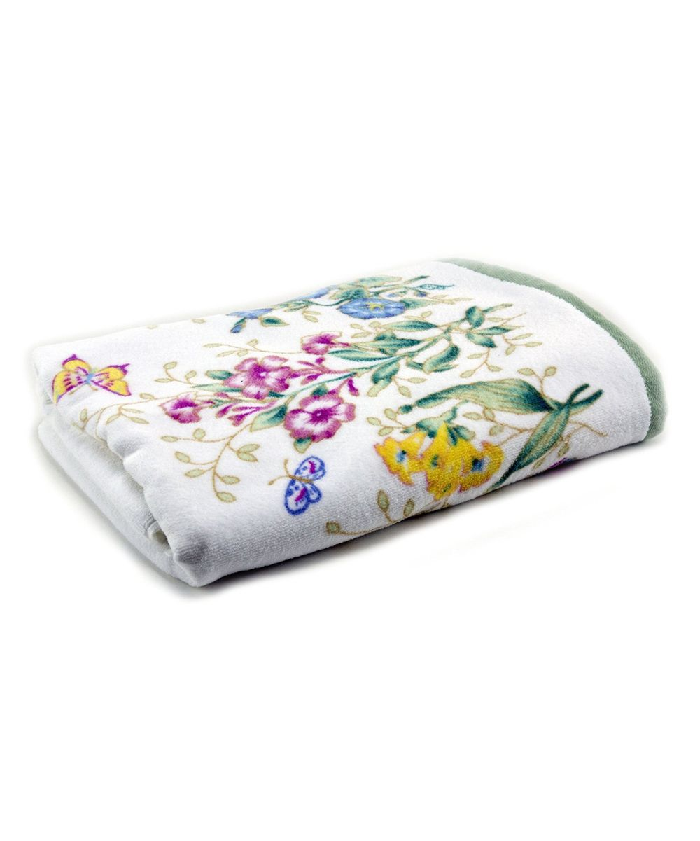 Butterfly Meadow Bath Towel Lenox Butterfly Meadow Bath Towels