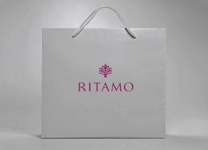 RITAMO: Diseño de logotipo para una tienda de bisutería y complementos. // logo design for a  costume jewelry and accessory shop.