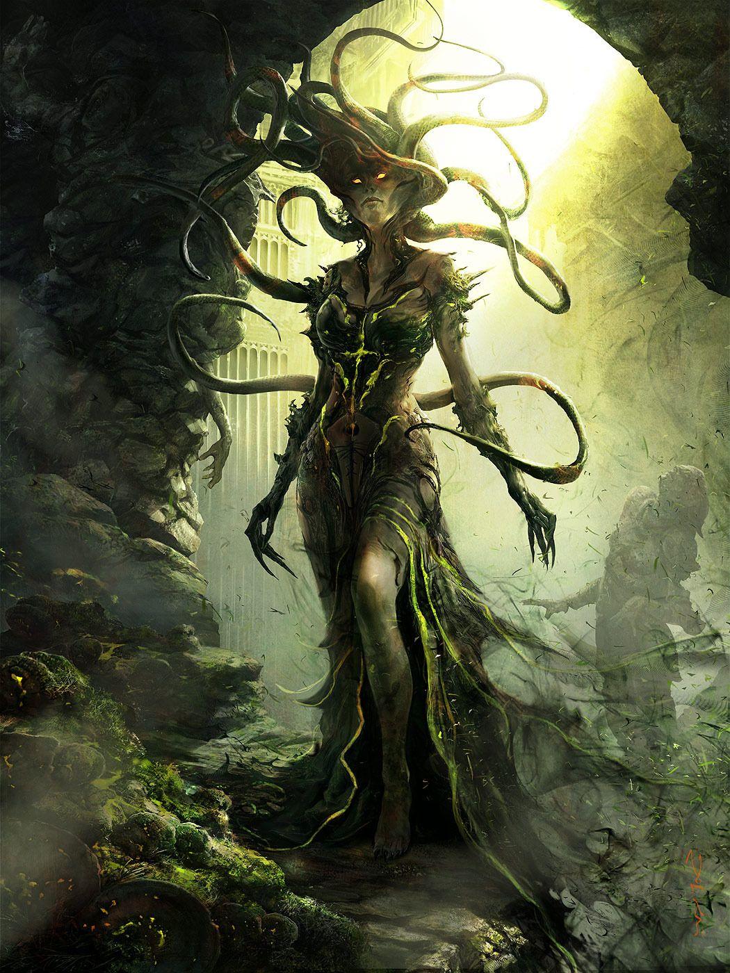 Aleksi-Vrazska-Eye-of-Death.jpg (1050×1400) Aleksi Briclot