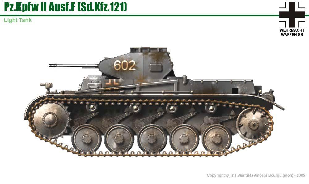 pz kpfw ii ausf f army deutschland panzer erster. Black Bedroom Furniture Sets. Home Design Ideas