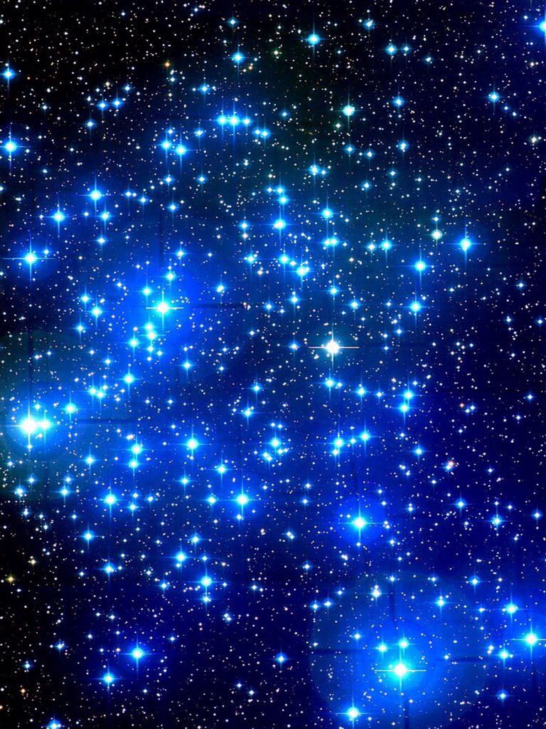 Blue Sparkles Wallpaper Put This On The Ceiling If Your Kids Room To Imitate The Night Sky