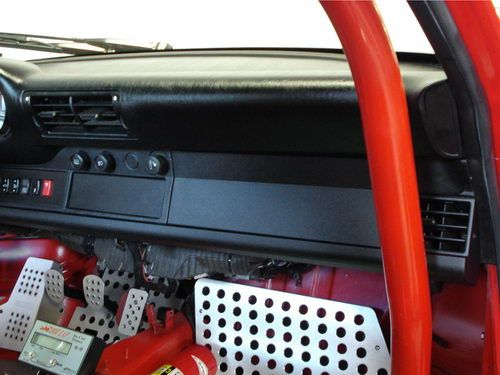 Rennline 964/993 Lower Dash Delete Cover RENDA70B - Rennline Design - REN-DA70-B | Pelican Parts