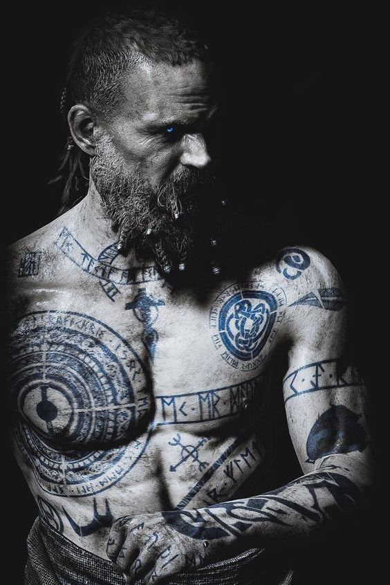Vikings Chest Tattoos For Men Chest Tattoo Men Tattoos For Guys Chest Tattoo