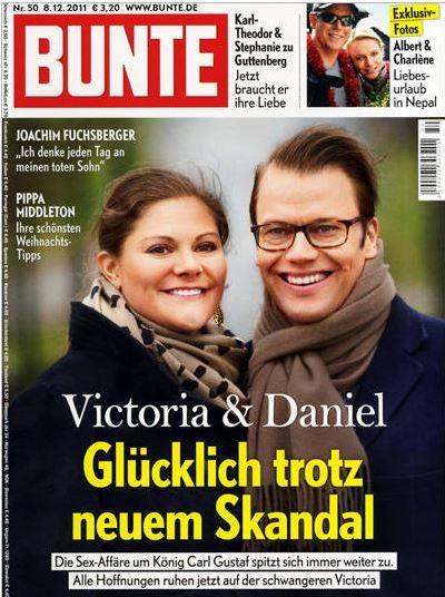 2011: Victoria und Daniel von Schweden