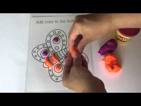 Video Tutorial: Printable Playdough Mats