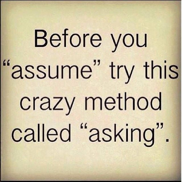 Jumping To Conclusions Quotes Amusing Truthit's Always Better To Ask First Rather Than Jumping Into