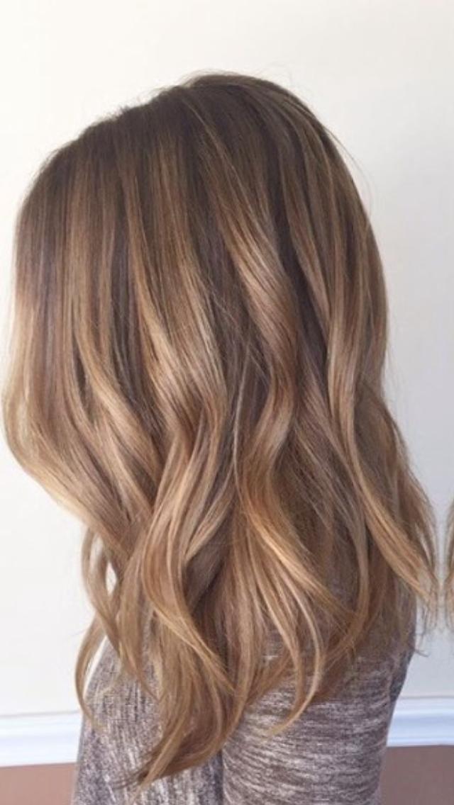 Pin Von Lejla Auf Hair Balayage Frisur Frisuren Braun Blonde Haare