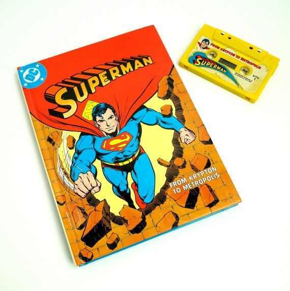 Superman From Krypton to Metropolis Fisher by AttysSproutVintage, $25.00