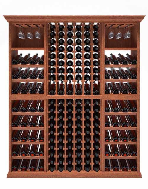 6 Foot Wine Cellar 208 Bottle Capacity In 2020 Wine Cellar Stemware Storage Wine