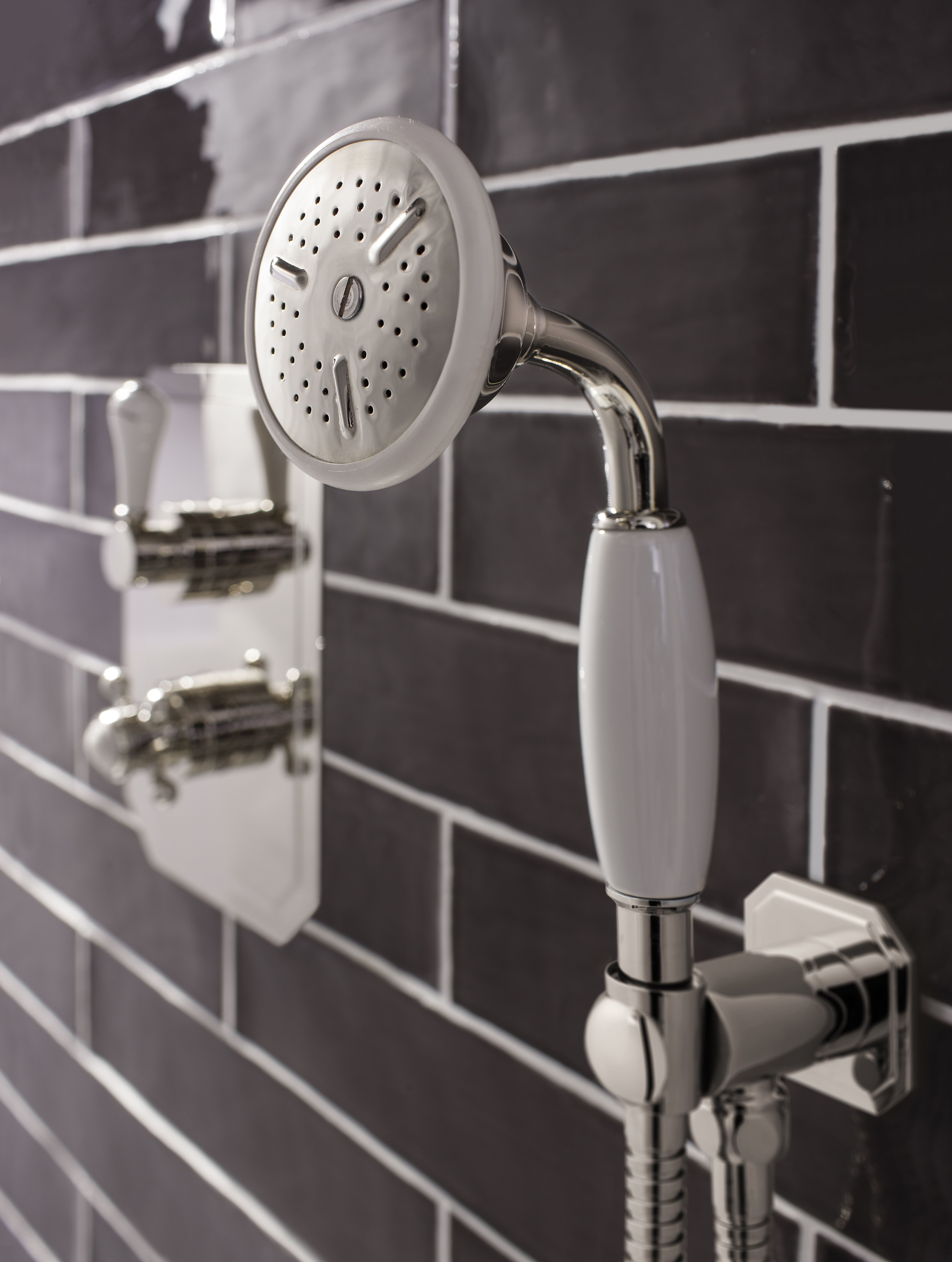 Enjoy the freedom of a moveable shower head - Belgravia Shower ...