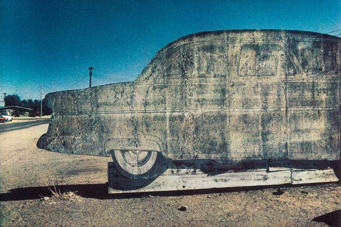 Bernard Plossu. Californie, 1980. Les images de cette série sont extraites du livre Plossu, Couleur Fresson, Théâtre de la Photographie et de l'Image / Nice Musées, 2007