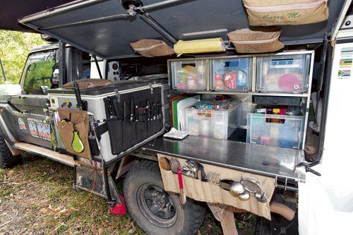 Camper Trailer Kitchens Guide Camper Trailer Australia Outdoor Cooking Storage Ideas Camp Kitchen Camper Trailer Ki Camper Kitchen Camp Kitchen Camping Canopy
