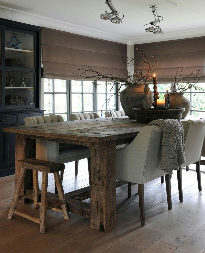decor country decorating room rustic ideas best dining