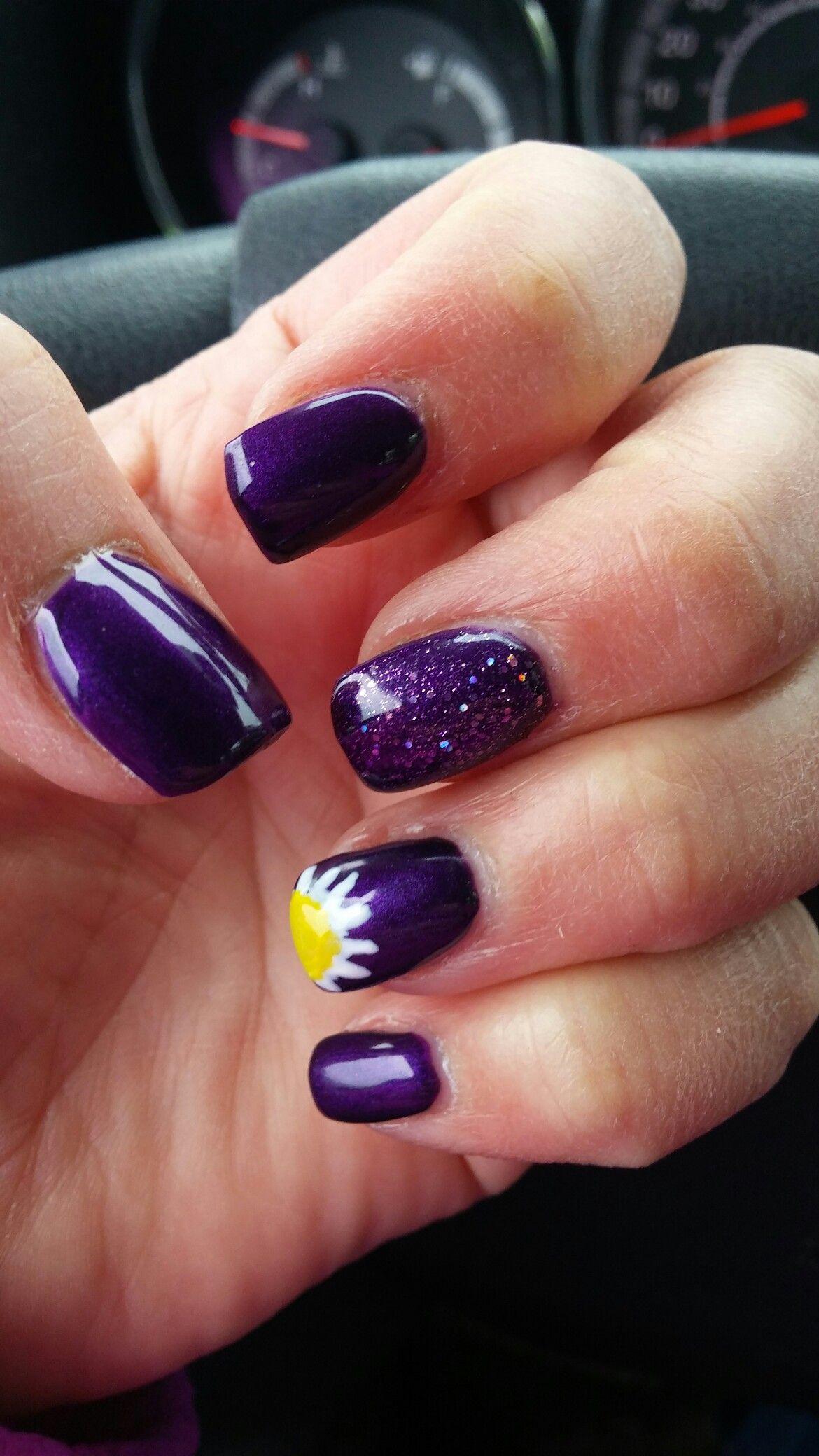 Daisy nail art daisy nails nails daisy nail art