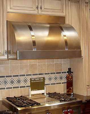 Rangecraft Canterbury Wall Mount Stainless Steel Range Hood Cocinas
