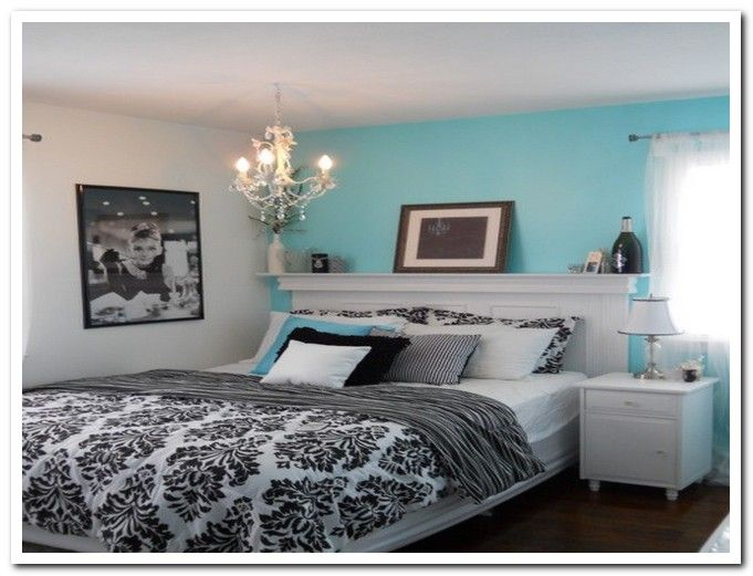 Best Black And White And Blue Bedroom Tiffany Blue Bedroom 400 x 300