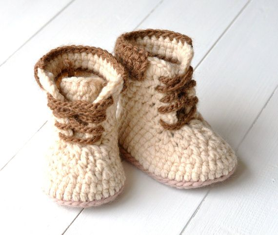 CROCHET PATTERN Boots for Baby Boys Timberland от matildasmeadow