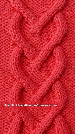 Modèle de câble pour tricoter avec instructions gratuites   – Strickmuster