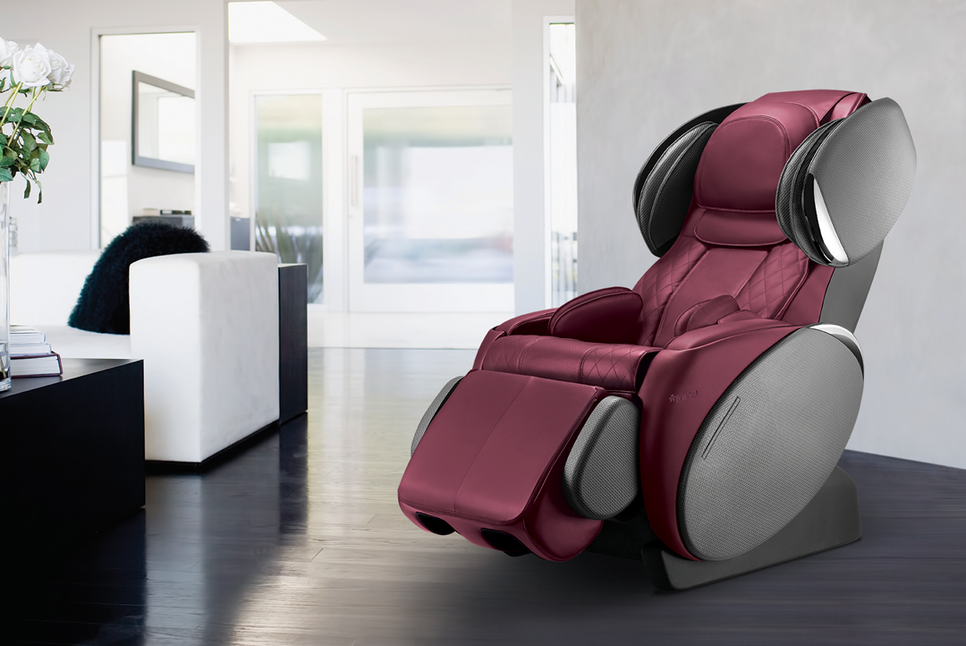 uMagic massage chair Red Color Massage chair, Chair