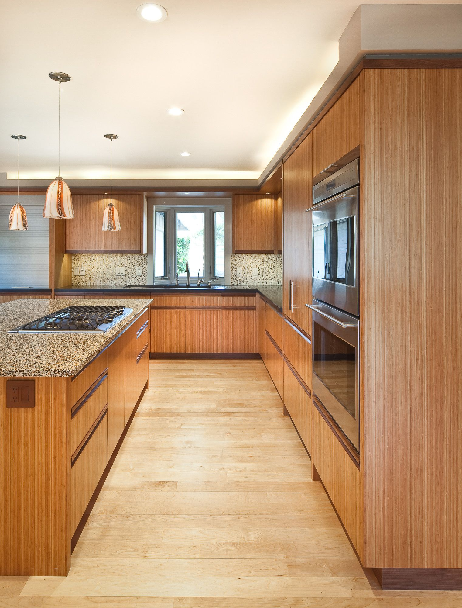 Bamboo Kitchen Cabinet By Berkeley Mills Kitchen Bamboo Cabinets Cabinet Custom Flooring Wooden Kit In 2020 Bamboo Kitchen Cabinets Kitchen Flooring Kitchen Cabinets