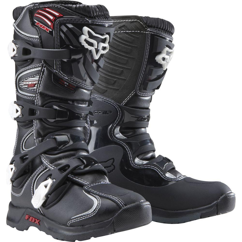 Fox Racing Comp 5 Youth Boys Motocross Motorcycle Boots 2013 Mx Boots Motorcycle Boots Dirt Bike Boots