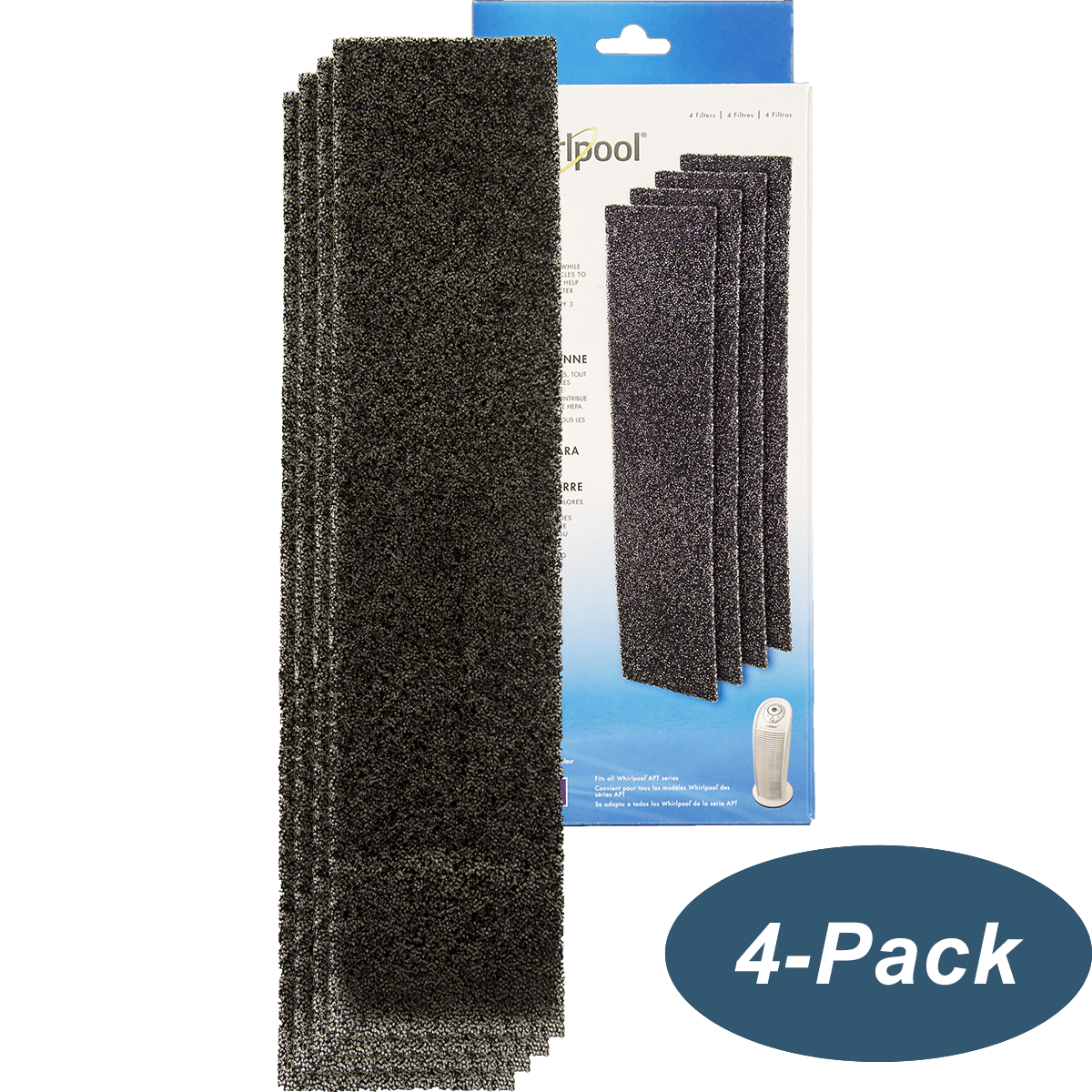 Buy Cheap Genuine Whirlpool Carbon PreFilters Tower (4