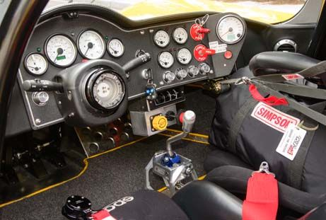 Interior Ultima Gtr Race Car Dashboard Panelz