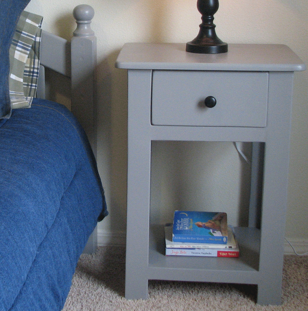Lee and beths simple nightstands do it yourself home projects lee and beths simple nightstands do it yourself home projects from ana white solutioingenieria Gallery