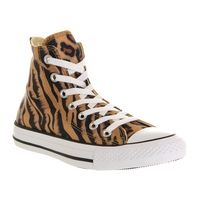 Mens Converse Converse All Star Hi Tiger Smudge Exclusive Trainers Shoes, Multi-Coloured