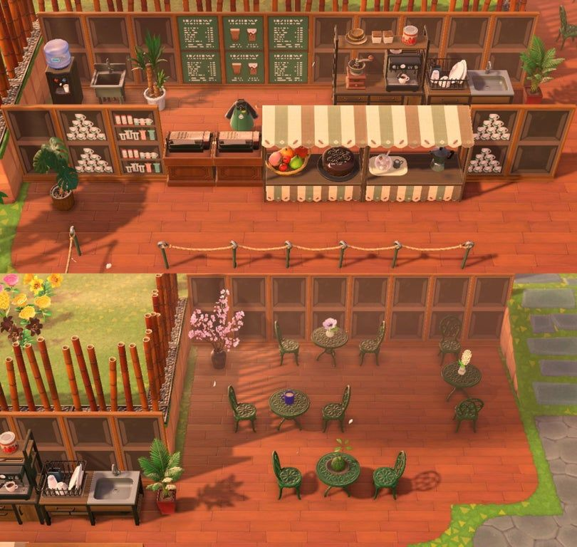 My version of a starbucks inspired coffee shop is finally