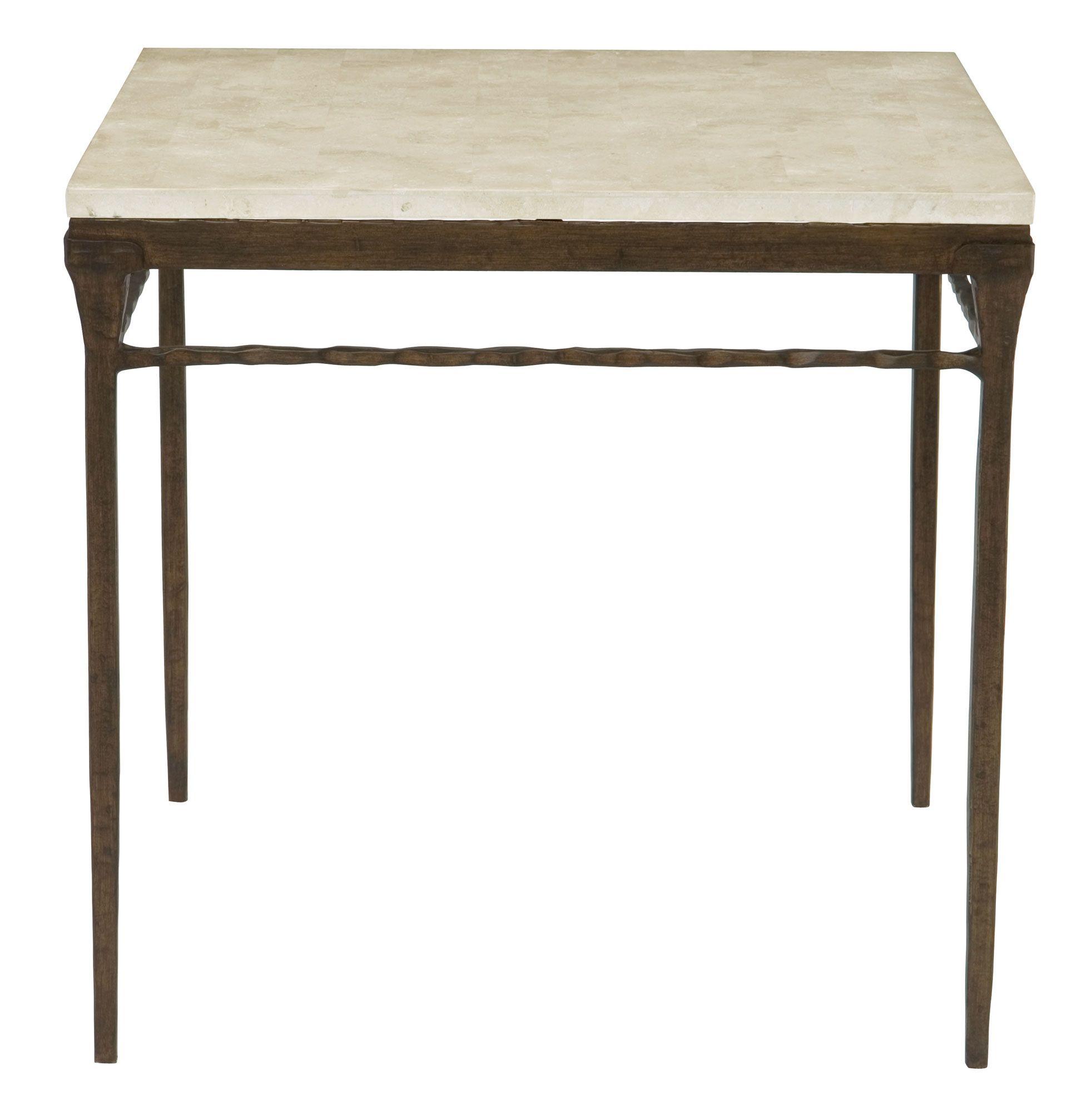 524-111 Desmond Square Chairside Table | Bernhardt W 28.5 D 28.5 H ...