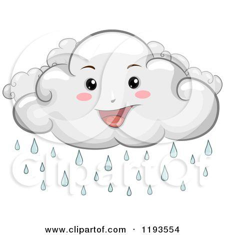 Cartoon Of A Happy Rain Cloud Mascot Royalty Free Vector Clipart By Bnp Design Studio 1193554 Free Vector Clipart Mascot Design Vector Free