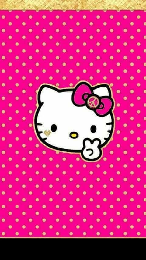 Cute Wallpapers Iphone Hello Kitty Wallpaper Pink Sanrio Montessori Backgrounds My Passion