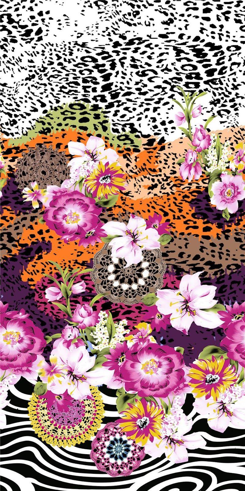 HAND DRAWN_Flower Design_Digital Print_1 Blisse Design