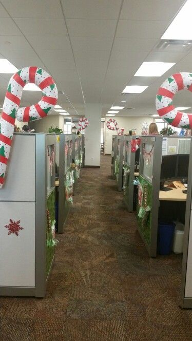 Candy Cane Lane Cubicle Ideas Candy Cane Merry