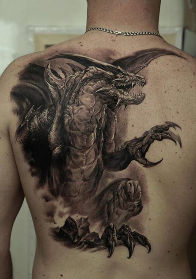 60 Of The Most Hyper Realistic Tattoos You Ll Ever See Dragon Tattoos For Men 3d Dragon Tattoo Hyper Realistic Tattoo