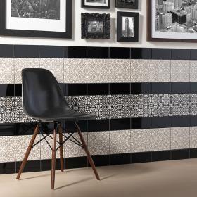 Yamina Light Inset Tiles