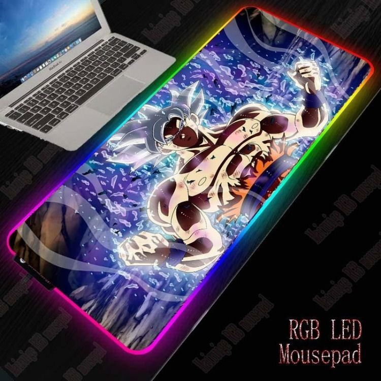 Dragon ball rgb mouse pad in 2020 mouse pad design