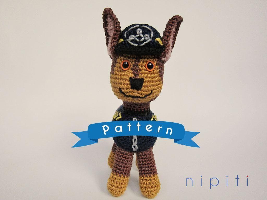4) Name: \'Crocheting : Paw Patrol Toy - Chase Pattern | Paw patrol ...